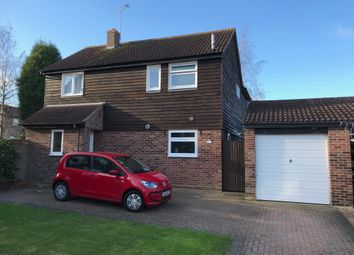 Thumbnail 4 bed detached house for sale in Boxford Close, Stowmarket