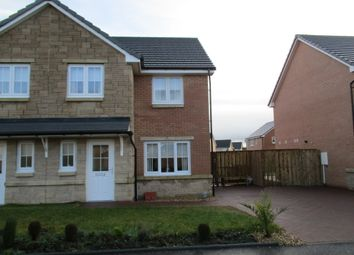 Thumbnail 3 bed semi-detached house for sale in Cambridge Crescent, Airdrie
