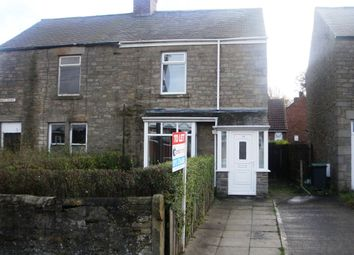 Thumbnail 2 bed cottage to rent in Consett Road, Castleside, Consett, Co. Durham
