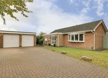 Thumbnail 3 bed detached bungalow for sale in Norfolk Close, Hucknall, Nottinghamshire