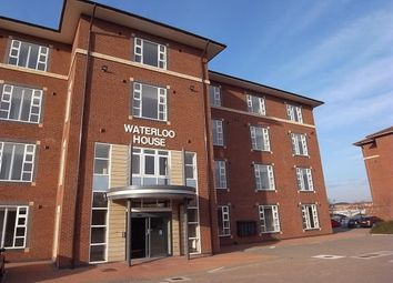 Thumbnail 1 bed flat to rent in Waterloo House, Thornaby