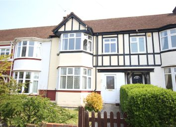 Thumbnail 3 bed terraced house to rent in Central Avenue, Gravesend, Kent