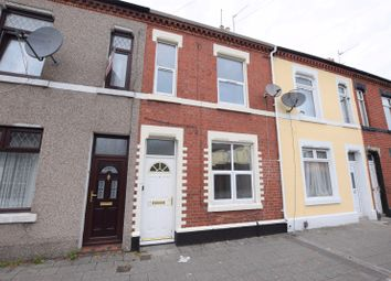 Thumbnail 2 bed terraced house for sale in Cornwall Street, Cardiff