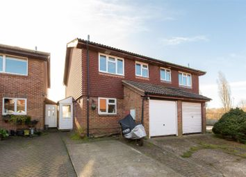 Thumbnail 3 bed semi-detached house for sale in De Grey Close, Lewes