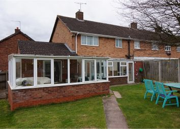 Thumbnail 3 bed end terrace house for sale in Rowan Crescent, Redditch