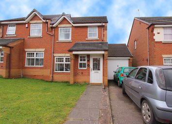 Thumbnail 3 bed semi-detached house for sale in Alderley Crescent, Walsall
