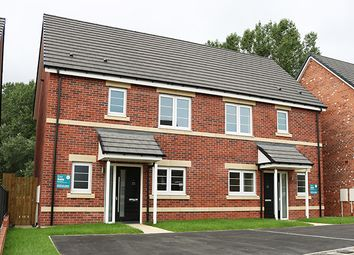 Thumbnail 3 bed semi-detached house for sale in Littlewood Close, Meadowfield