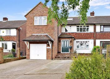 Thumbnail 4 bed semi-detached house for sale in Squires Close, Strood, Rochester, Kent