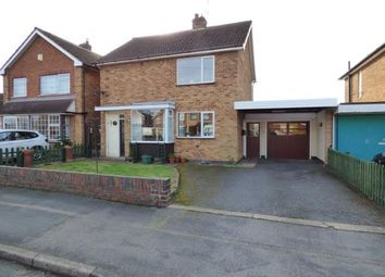 Thumbnail 3 bed detached house for sale in Welbeck Close, Blaby, Leicester, Leicestershire
