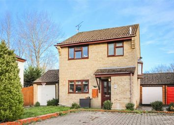 Thumbnail 3 bed detached house for sale in Plattes Close, Shaw, Swindon