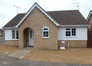 Thumbnail 2 bedroom detached bungalow to rent in Windmill Gardens, Wisbech