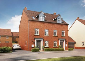 """Thumbnail 3 bedroom semi-detached house for sale in """"Greenwood"""" at Tingewick Road, Buckingham"""