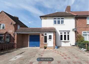 Thumbnail 3 bedroom end terrace house to rent in Boxoll Road, Dagenham