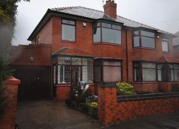 Thumbnail 3 bed semi-detached house to rent in Coleridge Avenue, Orrell, Wigan