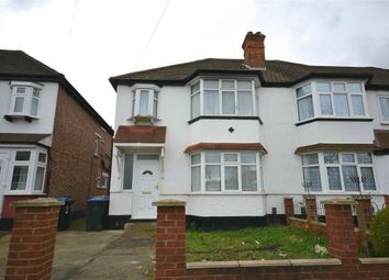 Thumbnail 3 bed semi-detached house to rent in Carlton Avenue West, Wembley