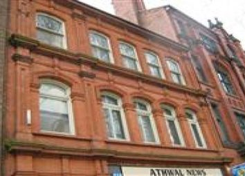 Thumbnail 2 bed flat to rent in Leicester Street, Walsall