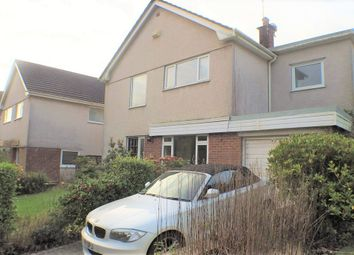 Thumbnail 3 bed detached house to rent in Birkdale Close, Mayals, Swansea