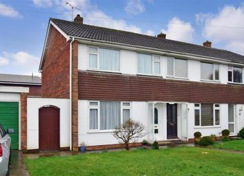 Thumbnail 3 bed semi-detached house for sale in Marlborough Close, Ryde, Isle Of Wight