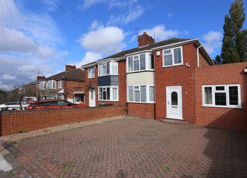 Thumbnail 4 bed semi-detached house for sale in Fancourt Avenue, Penn, Wolverhampton