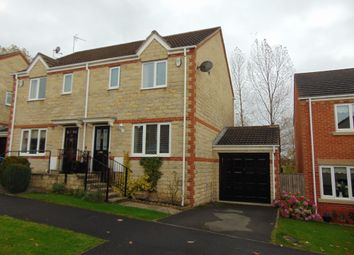 Thumbnail 3 bedroom semi-detached house for sale in Boundary Close, Ushaw Moor, Durham