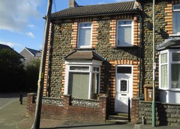 Thumbnail 3 bed end terrace house to rent in King Street, Abertridwr, Caerphilly