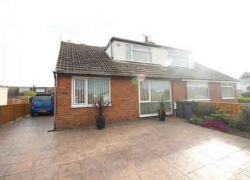 Thumbnail 4 bed semi-detached bungalow for sale in Redcar Avenue, Thornton-Cleveleys