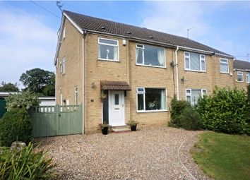 Thumbnail 4 bed semi-detached house for sale in Churchill Avenue, Cottingham