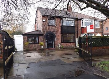 Thumbnail 5 bed semi-detached house for sale in Stockport Road, Denton, Greater Manchester