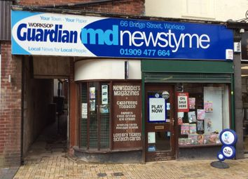 Thumbnail Retail premises for sale in Bridge Street, Worksop