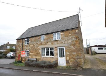 Thumbnail 3 bedroom detached house for sale in Lyddington Road, Caldecott, Market Harborough