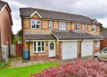 Thumbnail 3 bed semi-detached house for sale in Lancaster Close, Hamstreet, Ashford