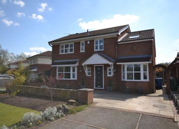 Thumbnail 4 bed detached house for sale in Westbrook Crescent, Westbrook, Warrington