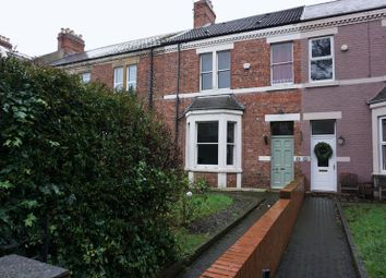 Thumbnail 3 bed terraced house to rent in Albany Gardens, Whitley Bay