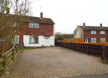 Thumbnail 2 bedroom end terrace house for sale in Leighton Avenue, Park South, Swindon, Wiltshire