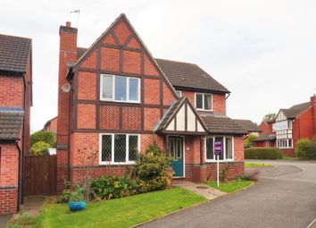 Thumbnail 5 bed detached house for sale in Barbel Crescent, Worcester