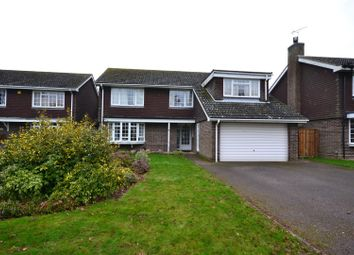 Thumbnail 5 bed detached house to rent in Brookfields Close, Newmarket