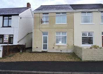 Thumbnail 3 bed semi-detached house for sale in Black Lion Road, Gorslas, Llanelli