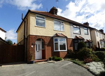 Thumbnail 3 bed semi-detached house for sale in Brookfield Road, Ipswich, Suffolk
