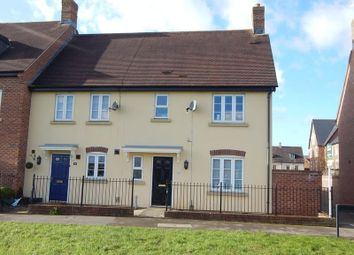 Thumbnail 3 bed end terrace house for sale in Luna Close, Swindon