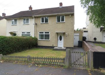 Thumbnail 2 bed semi-detached house to rent in Wellcroft Road, Shard End, Birmingham