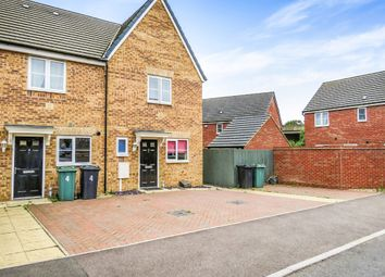 Thumbnail 2 bedroom end terrace house for sale in Tilman Drive, Peterborough