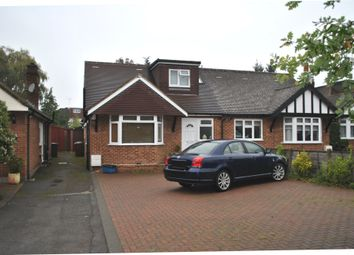 Thumbnail 3 bed semi-detached bungalow to rent in Dugdale Hill Lane, Potters Bar