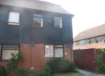 Thumbnail 2 bed semi-detached house to rent in Dragonfly Close, Ashford