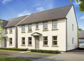 "Thumbnail 4 bedroom detached house for sale in ""Chelworth"" at West Yelland, Barnstaple"