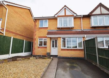 Thumbnail 3 bed semi-detached house for sale in Dairyfields Way, Sneyd Green, Stoke-On-Trent