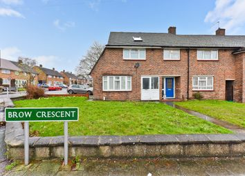 Thumbnail 3 bedroom end terrace house for sale in Brow Crescent, Orpington