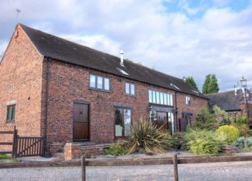 Thumbnail 5 bed barn conversion for sale in Kingsbury, Tamworth, Staffordshire