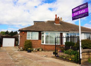 Thumbnail 3 bed semi-detached bungalow for sale in Field End Green, Leeds