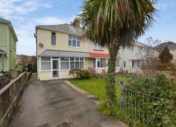 Thumbnail 3 bed semi-detached house for sale in Lucas Lane, Plymouth, Devon