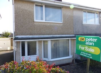 Thumbnail 2 bed semi-detached house for sale in Penllwynmarch Road, Gendros, Swansea